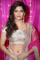 Ritika Sing in Golden Pink Choli Ghagra Cute Actress Ritika Sing ~  022.JPG