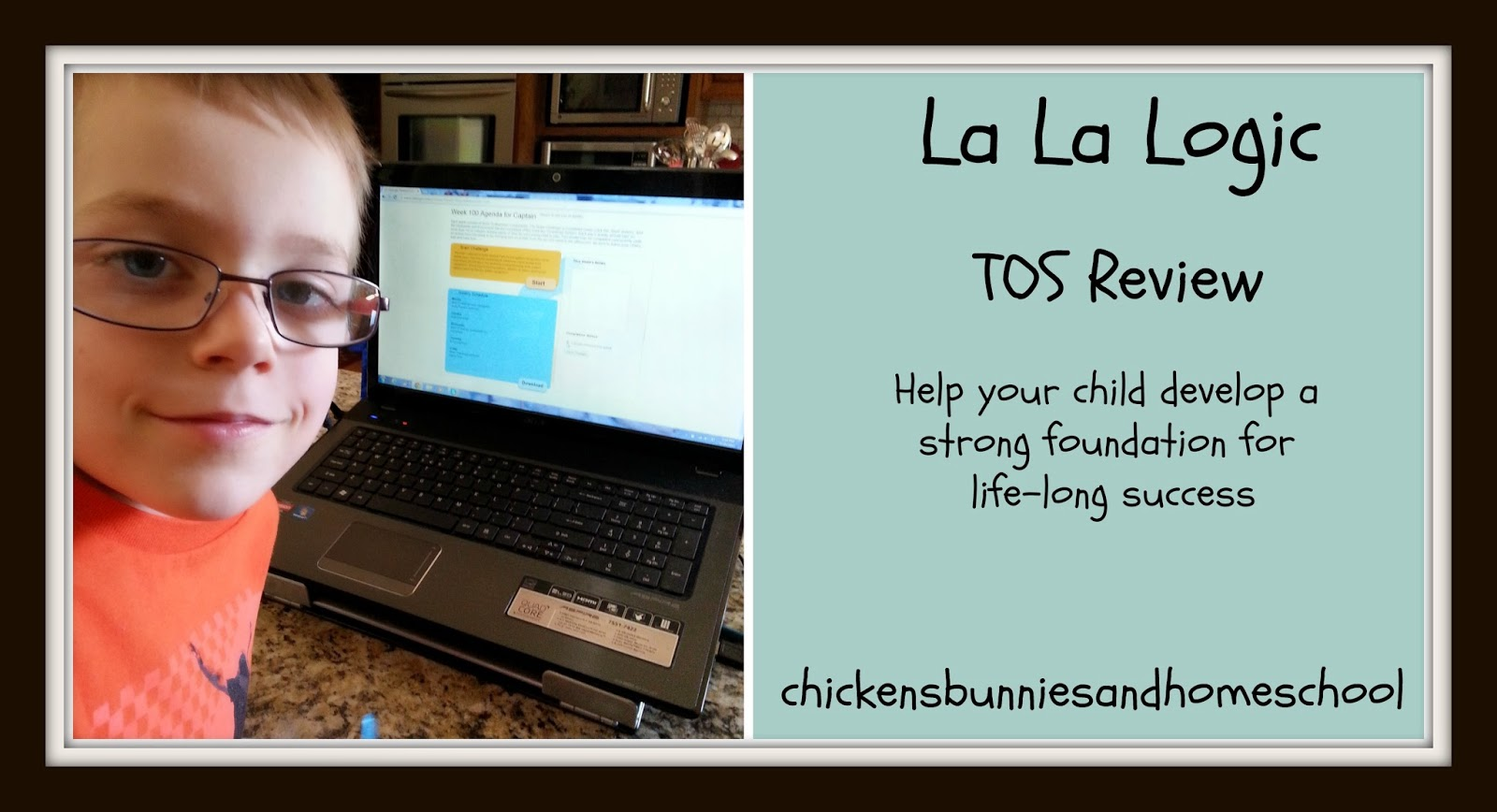 Chickensbunniesandhomeschool La La Logic Tos Review Crew