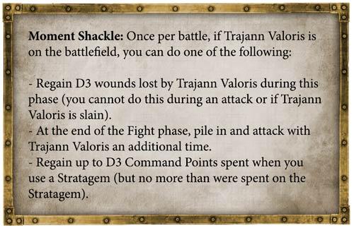 Reglas Trajann Valoris