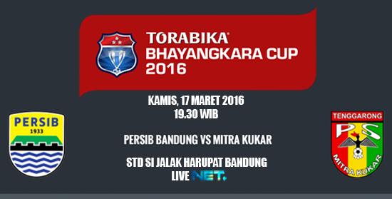 Persib vs Mitra Kukar, Piala Bhayangkara 2016