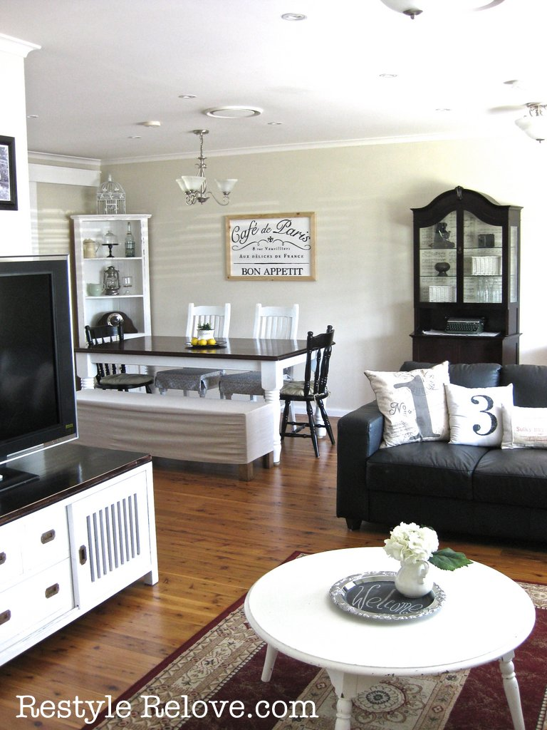 Lounge And Dining Room Makeover