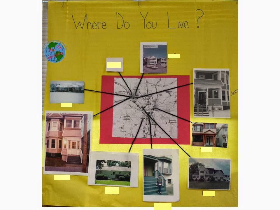photo of map students created