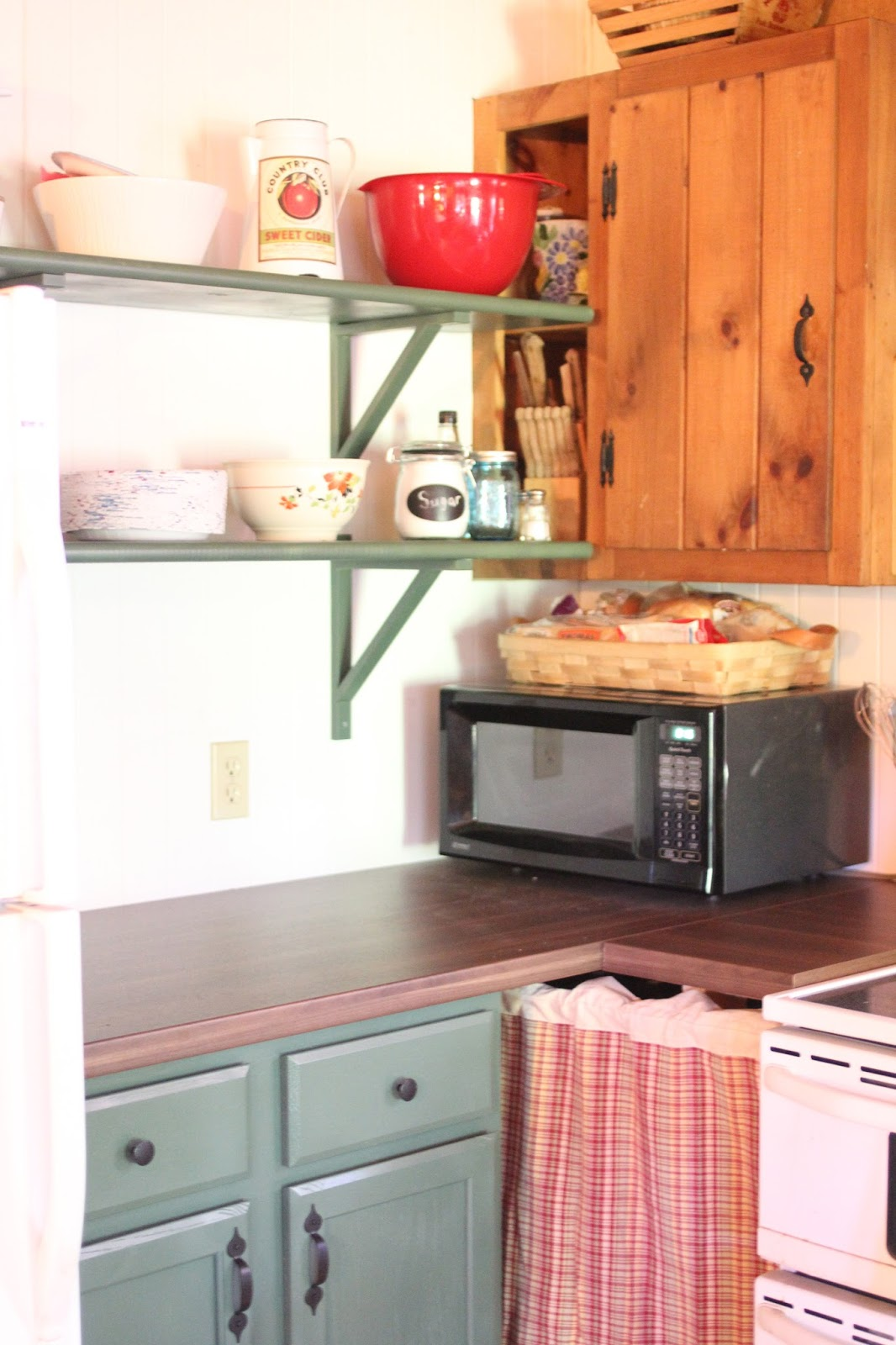 Golden Boys And Me Cabin Kitchen Makeover In Progress
