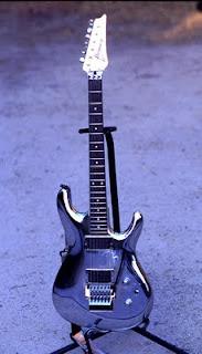foto de guitarra ibanez de satriani