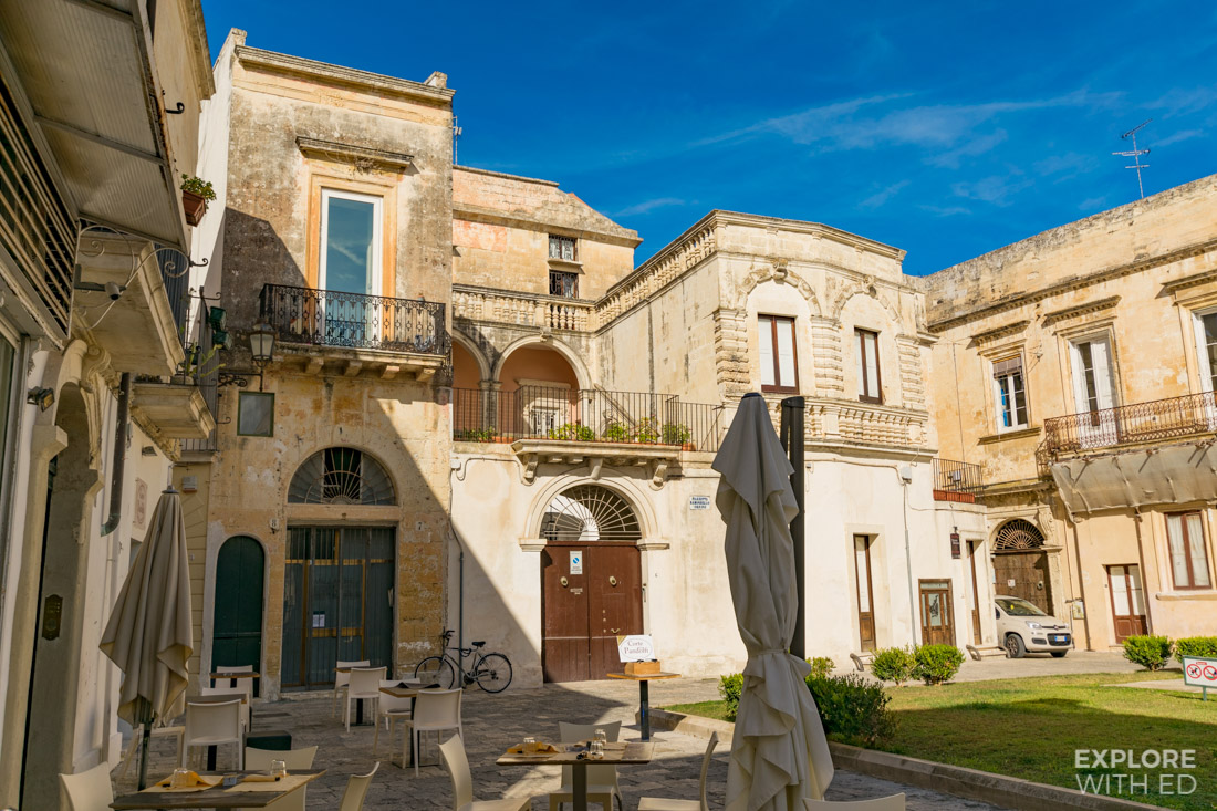 Restaurants and cafes in Lecce