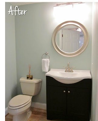 Rainwashed Blue Bathroom Favorite Paint Colors Blog
