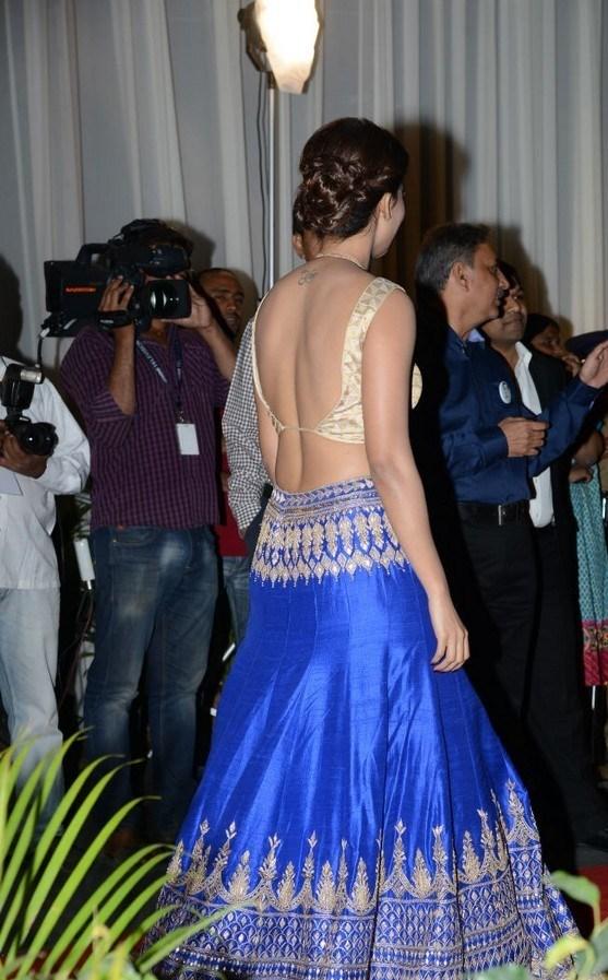 Samantha Latest Beautiful Stills In Blue Dress