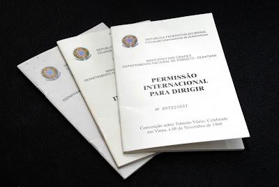 PID - Permissão Internacional para dirigir