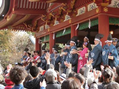 鶴岡八幡宮の節分祭
