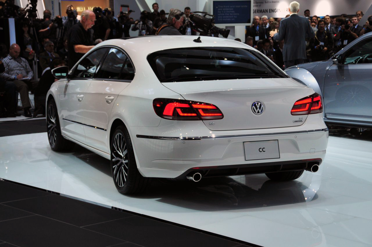 The best of cars: Volkswagen CC 2013