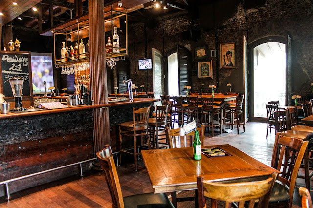 The Irish House Mumbai Vegetarian Food Blogger Lunch Menu Review