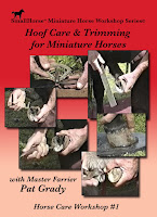 Hoof Care and Trimming for Miniature Horses Video DVD Small Horse Press