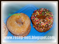 Resep Donat Kentang ( Potatoes Donut Recipe )