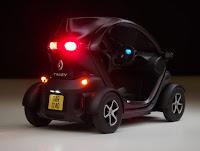 Renault Twisy die cast 1/18 Kinsfun miniatura