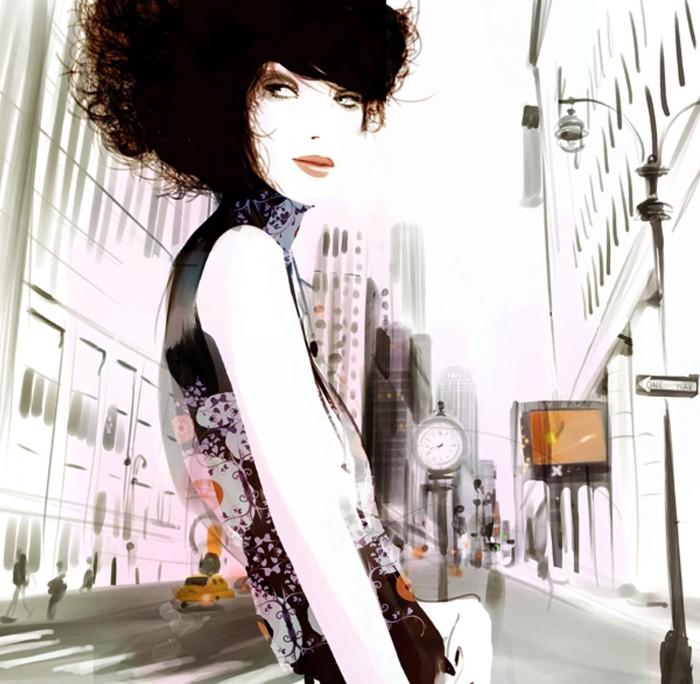 Красивые иллюстрации. Sophie Griotto 19