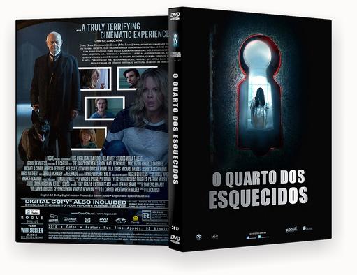 CAPA DVD – O Quarto Dos Esquecidos 2017 DVD-R
