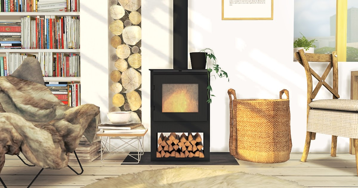 Deco Kamin Sims 4 Cc's - The Best: The Morsø Wood Burning Stove By Mxims