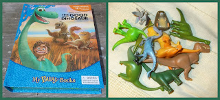 Disney, Disney Film, Interactive Books, My Busy Book, Phidal Publishing, Pixar, PVC Figurines, Small Scale World, smallscaleworld.blogspot.com, The Good Dinosaur, Arlo, Spot, Nash, Ramsey, T Rex Ranchers, Bold Butch, Pterodactyls, Apatosaurus, Clawtooth Mountain, 2015, Book And Pieces,