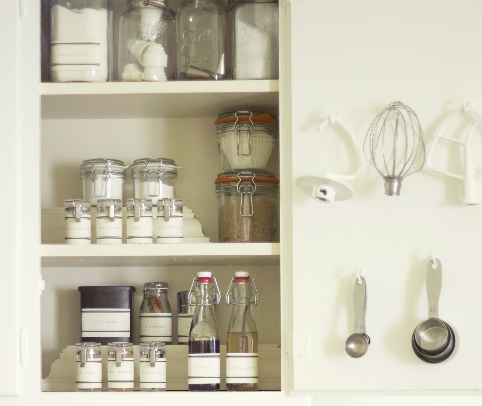 Organized Kitchen Cabinets: Jenny Steffens Hobick: Baking Pantry In A Cabinet