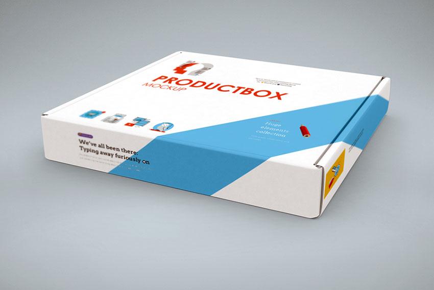 Hoziontal Box Cover Mockup