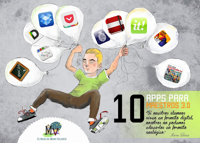 10 APPS PARA MAESTROS 3.0