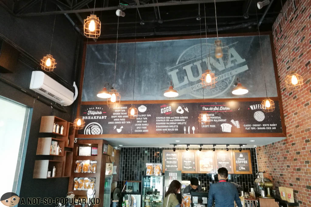 Luna Cafe - Filipino Cafe in Bonifacio High Street, BGC - A Not-So-Popular Kid | Food Blog