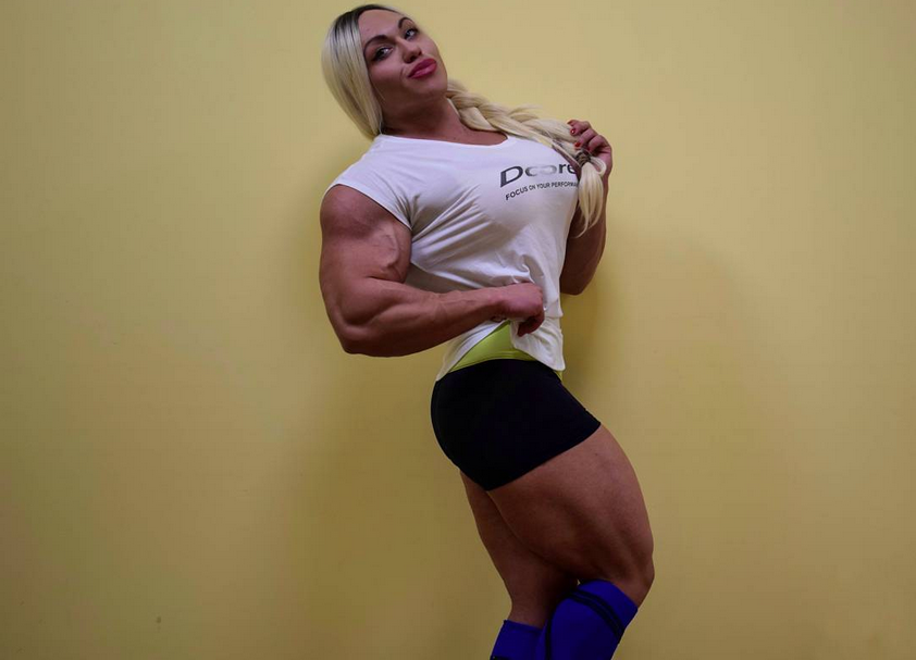 Top 4 Biggest and amazing Female Bodybuilders 2019 : 1. Nataliya Kuznetsova