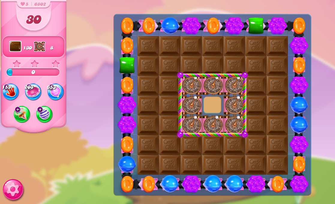 Candy Crush Saga level 6802