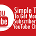 Buy 50 YouTube Subscribers For $1 [Guaranteed Service]