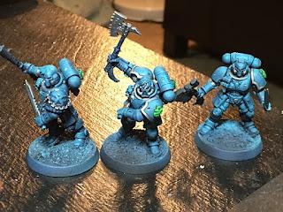 Blue Paint Used By Berserkers
