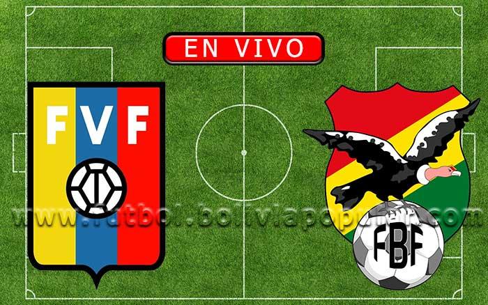 【En Vivo】Venezuela vs. Bolivia - Amistoso Internacional