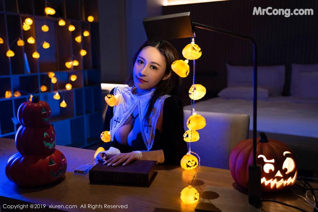 Image XIUREN-No.1802-Zhou-Jing-Kong-MrCong.com-001 in post XIUREN No.1802: Zhou Jing Kong (周井空) (43 ảnh)