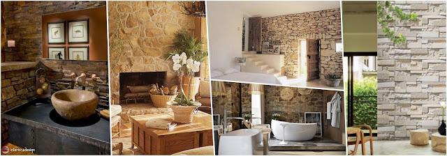 Featured Stone Walls Of Interior Design