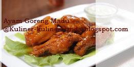 Saat ini banyak sekali dari masyarakat Indonesia yang mempunyai kreatifitas berbagi  Resep Ayam Goreng Madu Nan Sedap