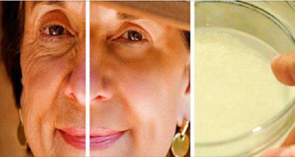 Homemade Cream Eliminated Wrinkles