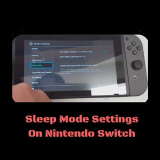 Nintendo Switch Sleep Mode Problem