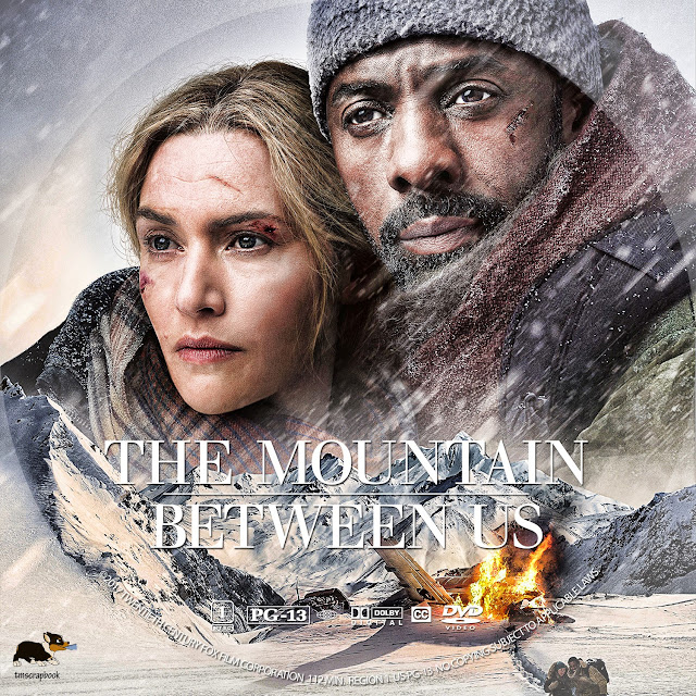 The Mountain Between Us DVD Label