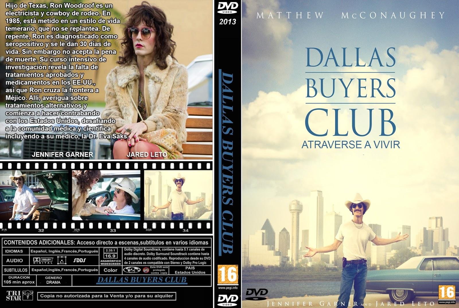 PB | DVD Cover / Caratula FREE: DALLAS BUYERS CLUB - DVD ...  Dallas
