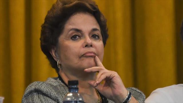 Justicia brasileña ordena bloqueo de bienes de Rousseff