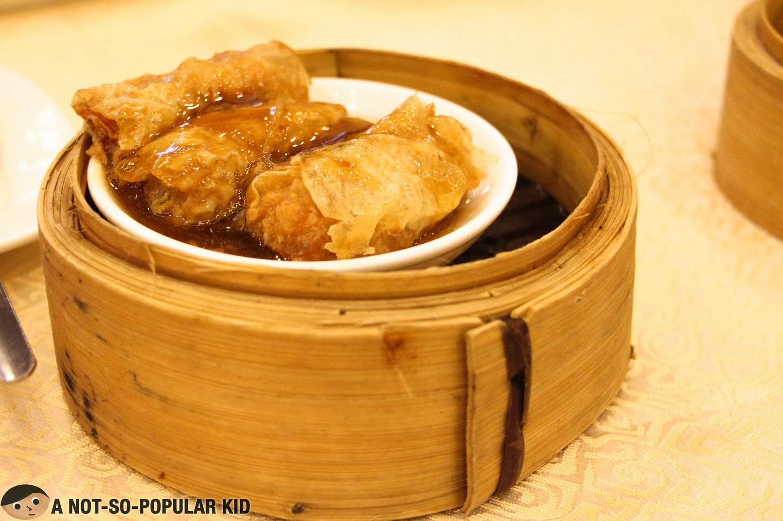 Beancurd Roll for Dimsum Food Trip