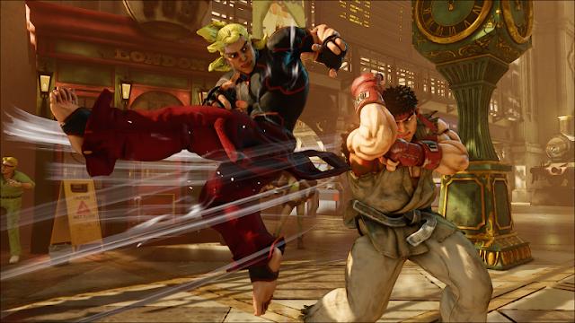 رصد نسخة Arcade Edition للعبة Street Fighter V ضمن متجر Amazon