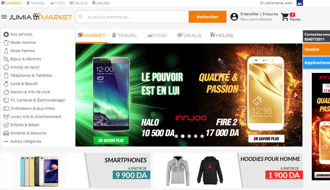 1551e42de موقع جوميا Jumia هو موقع تسوق إلكتروني ضخم و يضم آلاف المنتجات ذات جودة  عالية وبأثمنة مناسبة، حيث تأسس موقع جوميا سنة 2013 من طرف مجموعة انترنت  إفريقيا ...