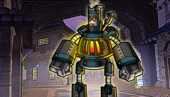 Wizard101 Steel Golem Pet