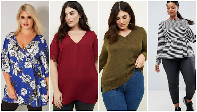 Autumn tops, Yours Clothing, New Look, Asos