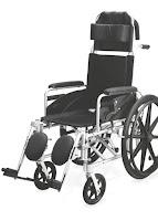 High Back Reclining Children Wheelchair