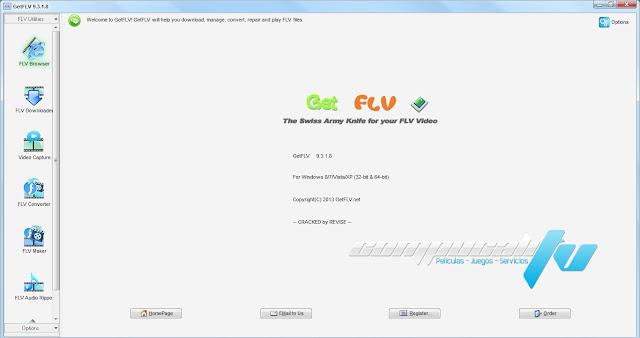 GetFLV Pro Versión 9.3.1.8 Español