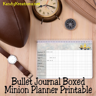 There are certain things I do each day to make some extra play money. During the summer it's hard to remember to get it all done with crazy schedules. Add this bullet journal inspired month box planner printable to your organization and you'll be on your way to your next pair of shoes quick!