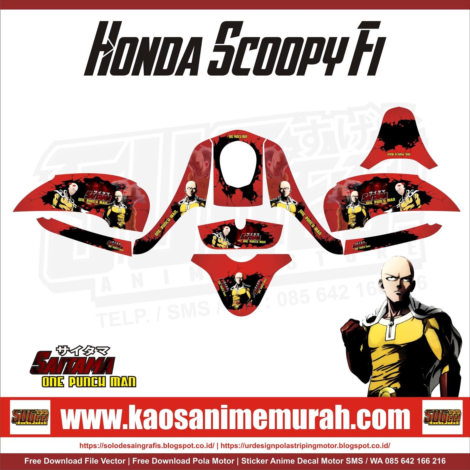 Honda Scoopy Fi Saitama OPM