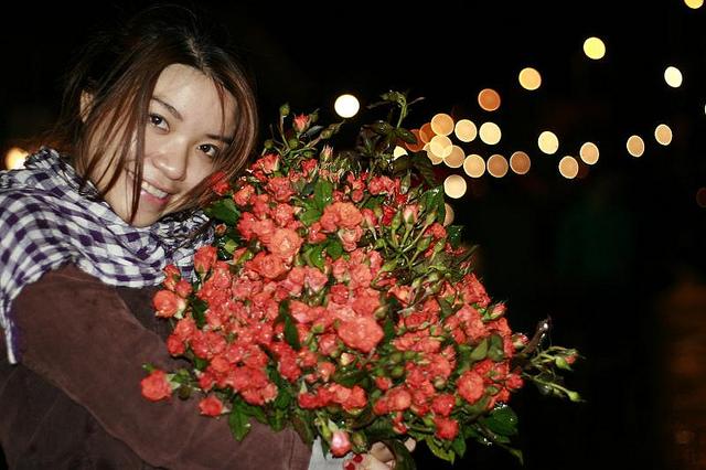 Buôn bán hoa tươi có lãi không