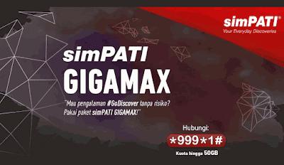 Cara Daftar Paket Simpati Gigamax Telkomsel 2018